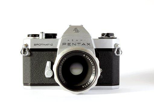 Pentax, Analog, Camera, Travel, Photograph, Old