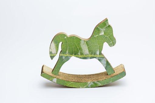 Rocking Horse, Decorative, Fantasy, Toy, Decoration