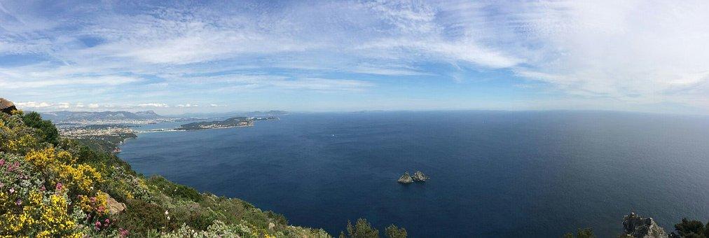 Sea, Landscape, South Of France, Mediterranean Sea