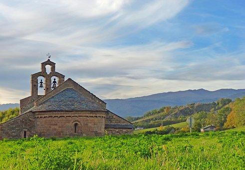 Cerdanya, Chapel, Romanesque Chapel, France, South