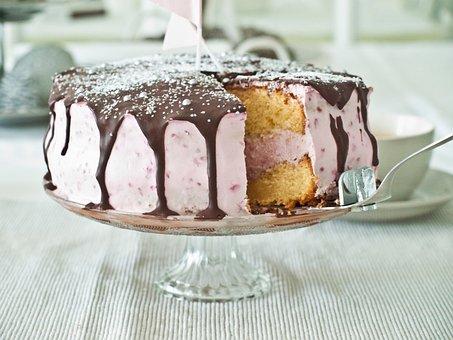 Cake, Pastry Chef, Sweet, Raspberry, Mascarpone, Cream