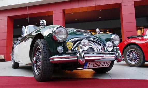 Jaguar, Oldtimer, Retro, Car, Auto