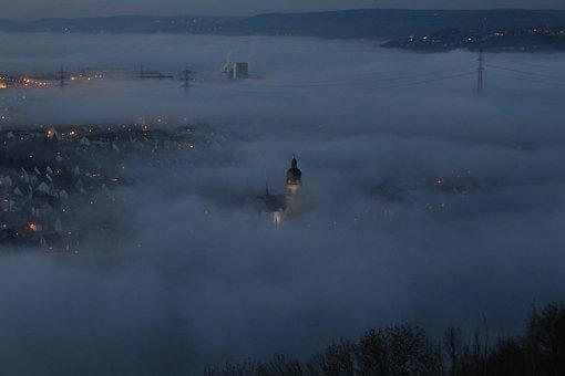 Koblenz, Fortress, Night Photograph