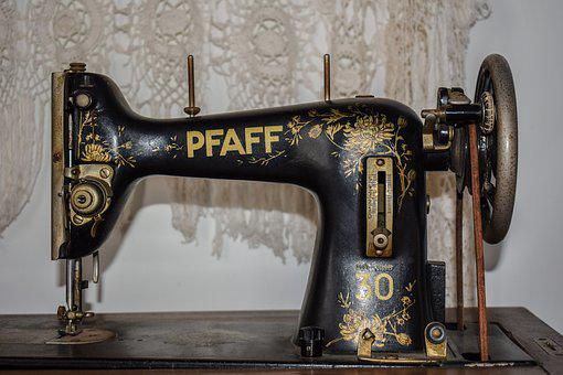 Sewing Machine, Old, Retro, Vintage, Antique, Equipment