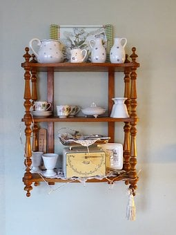 Nostalgia, Frame, Vintage, Tableware, Decor