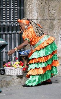 Cuba, Woman, Cigar, Eve, Character, Cuban, Colors