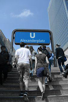 Berlin, Alexanderplatz, Germany, Metro
