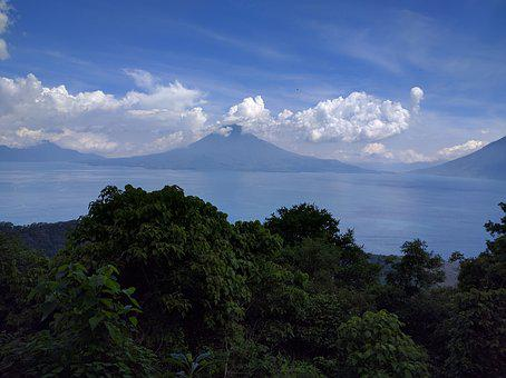 Lake, Lake Atitlan, Panajachel, Guatemala, Nature