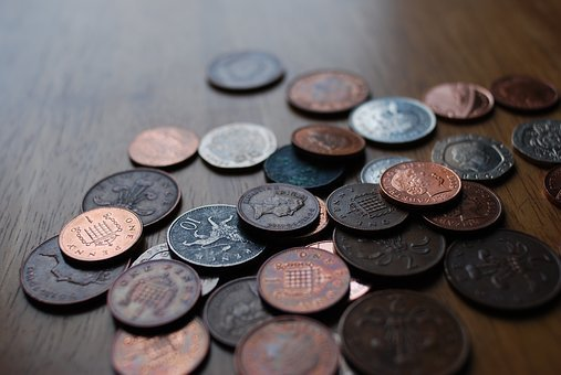 Coins, Money, Currency, Cash, Gbp, British, Pound