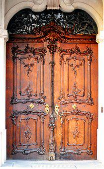 Door, Wood, Input, Old Door, Old, House Entrance