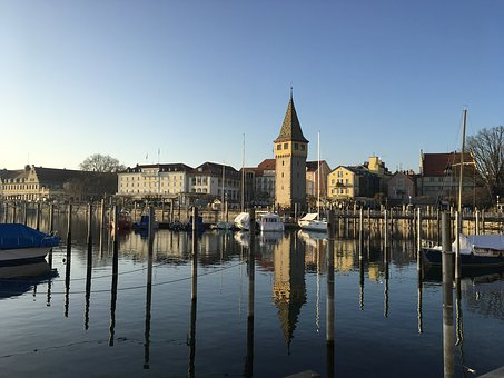 Lindau, Lake Constance, Port, Water, Bavaria, Germany
