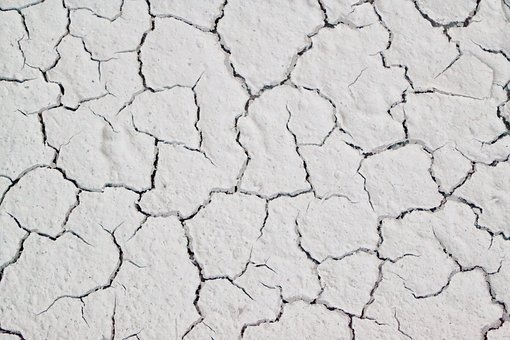 White Paint Cracks, Pattern, Design, Broken Texture