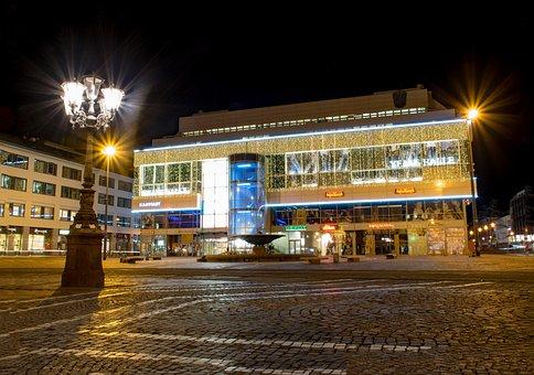 Darmstadt, Hesse, Germany, Luisenplatz, Luis Center