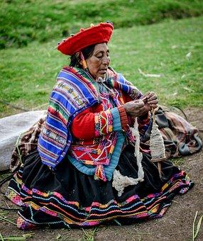 Chola, Peru, Inka, Cusco, Women, Old Woman, Woman, Old