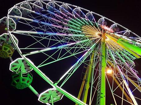 Ferris Wheel, Hustle And Bustle, Year Market