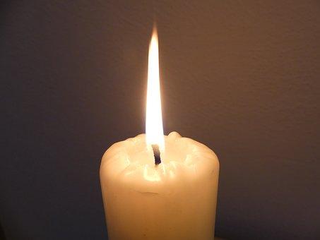 Candle, Flame, Light, Burn, Fire, Wick, Dark, Wax