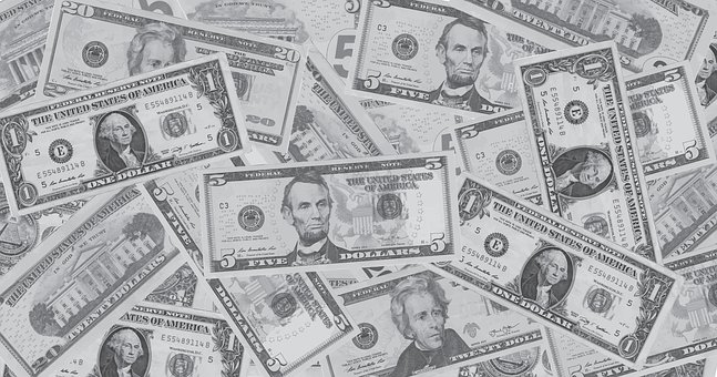 Background, Money, Dollar, Currency, America