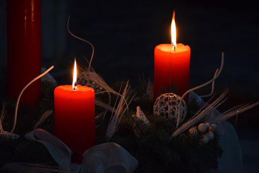 Candles, Candle, Heat, Flame, Light, Harmony, Wick