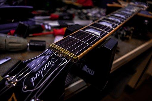 Guitar, Workshop, Strings, Gibson, Repair, Laspaul