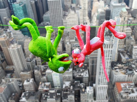 The Pink Panter, Plush Toys, Kermit, High Ropes, Height