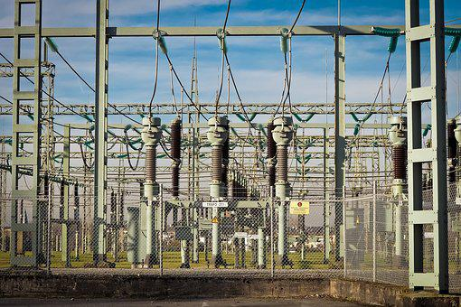 Current, Substation, Electricity, High Voltage