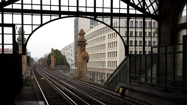 Trail, Train Station, Berlin