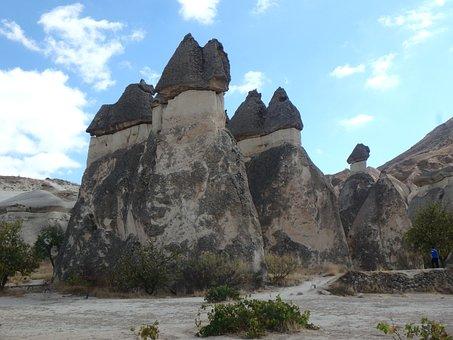 Sandstone, Cappadocia, Turkey