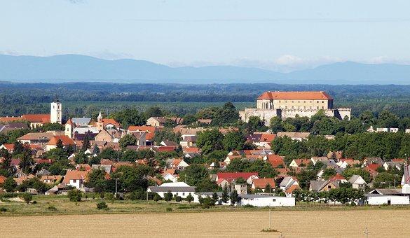 Baranya, Siklós, Castle, City, Castle Hill, Building