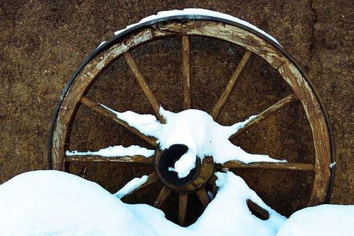 Wheel, Wagon Wheel, Coach, Rustic, Dare, Old, Nostalgia