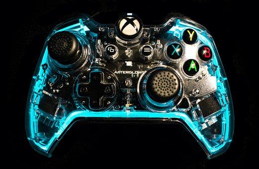Xbox, Remote Control, Game, Console, Videogame