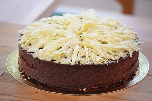 Dark Chocolate Cake, Plated Dessert, Gourmet, Chocolate