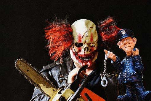 Horror Clowns, Trend, Usa, Evil Clowns, Terrible