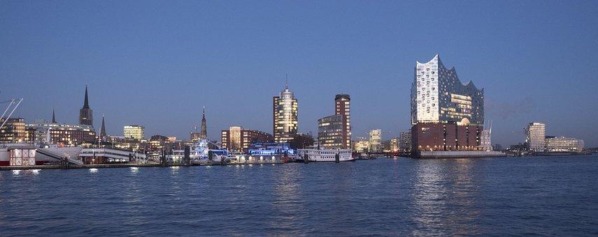 Hamburg, Germany, Harbour City, Elbe Philharmonic Hall