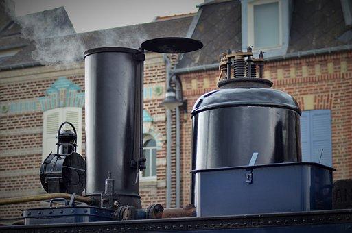 Train, Locomotive, Former, Steam Locomotive, Track