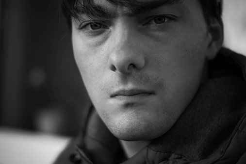 Portrait, Serious, Man, Hamburg, Think