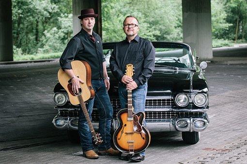 Guitar, Musician, Cadillac, Tom Shadow, Americana