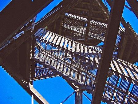 Observation Tower, Emergence, Stairs, Upward, Gradually