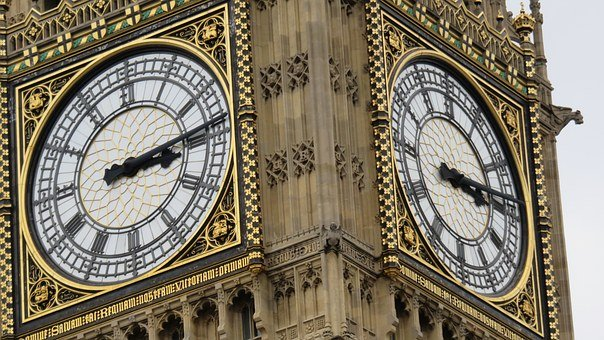 Big Ben, London, Clock, Clock Tower, Ben, Big, Landmark