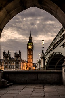 Big, Ben, L, England, London, Big Ben, Tower, Landmark