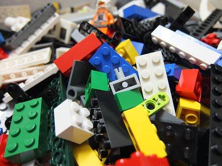 Lego, Bricks, Toy, Plastic, Block, Child, Fun