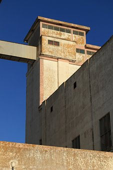 Portugal, Faro, Abandoned, Building, Industry, Concrete