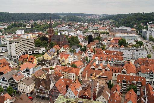 Hellenstein, Castle, City, Cityscape, Architecture