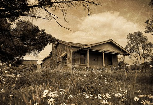 House, Old House, Country Property, Real Estate