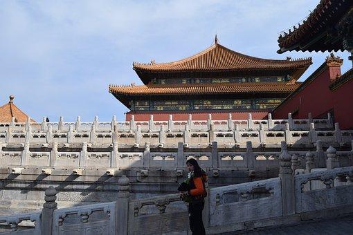 Palace, China, Forbidden City, Beijing, Pekin