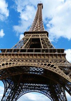 Paris, Eiffel Tower, Places Of Interest, France