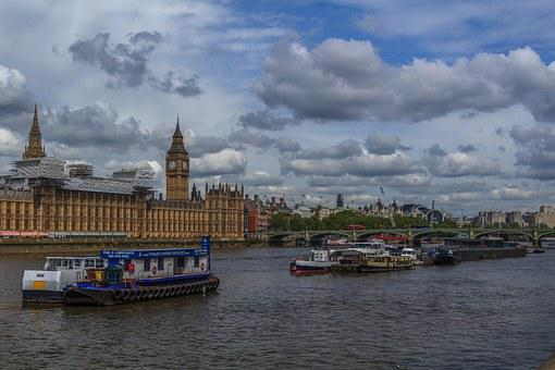 Thames, Westminster, Bridge, England, London, Britain