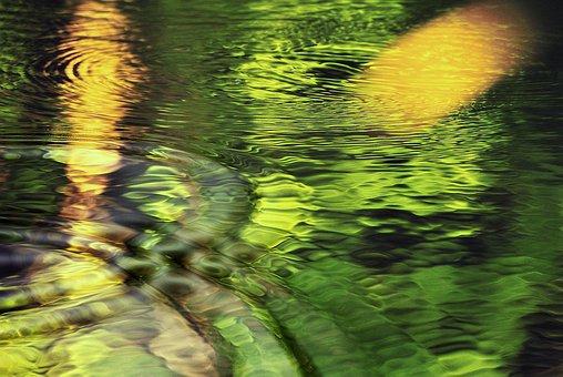 The Waves, The Background, Wallpaper, Desktop, Green