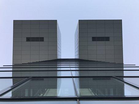 Cologne, Crane Homes, Rhine, Modern, Architecture