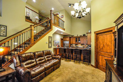Staircase, Interior, Home, Real Estate, Kitchen, House