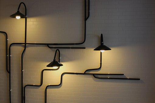 Lighting, Lights, Wall Light, Bright, Design